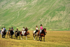 Horseback riding in the National Park of the Sibillini Mountains - Valnerina